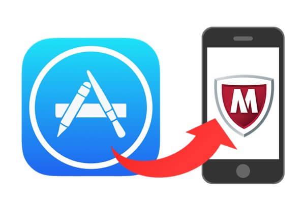 App Streとマカフィー